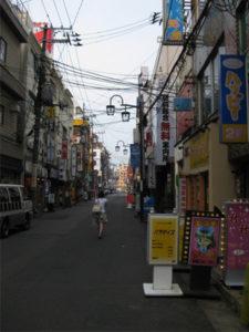 新潟古町のソープ街