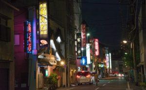 東京吉原のソープ街